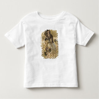Hanuman Langur adult with young Toddler T-shirt