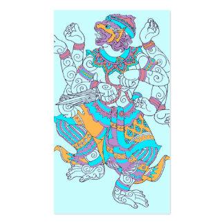 Hanuman monkey business card