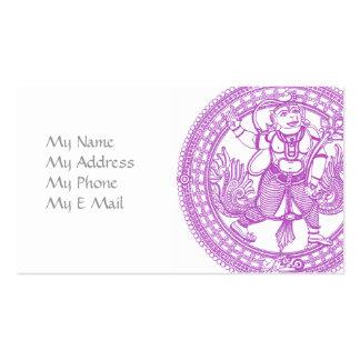 Hanuman Monkey Calling Card Business Card Templates