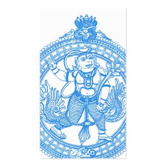 Hanuman monkey god business cards