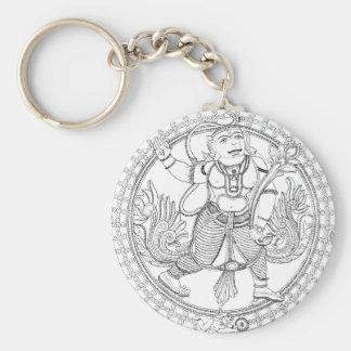 Hanuman Monkey God Keychain