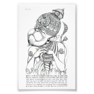 Hanuman Monkey God Photographic Print
