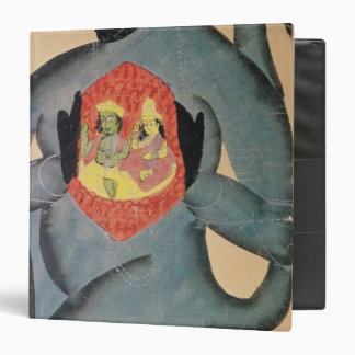 Hanuman revealing Rama and Sita Binders