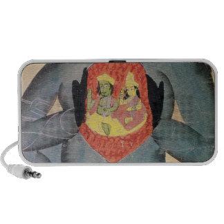 Hanuman revealing Rama and Sita Notebook Speakers