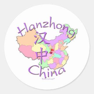 Hanzhong China Sticker