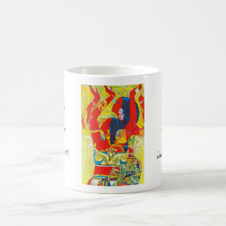 Hao Ping Flying Dance, Extremely Happy Dance Coffee Mug