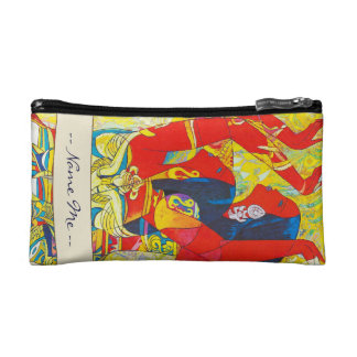 Hao Ping Flying Dance, Extremely Happy Dance Cosmetic Bag