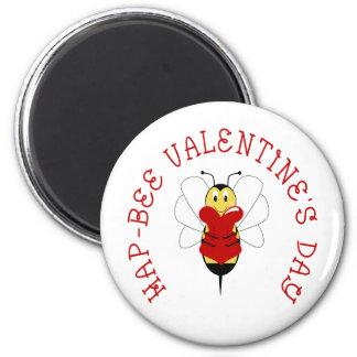 Hap-bee Valentine's Day Magnet