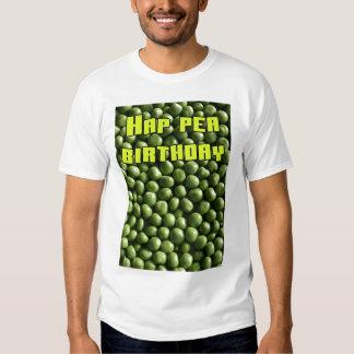 Hap Pea Birthday Shirts