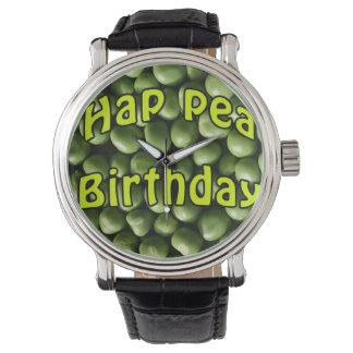 Hap Pea Birthday Wrist Watches