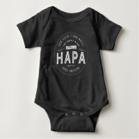Hapa Baby Half Asian Half White Awesome Baby Bodysuit