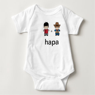 Hapa Chinese Dad & American Dad Bodysuit
