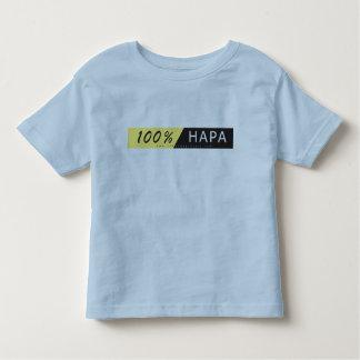 HAPA embroma la camiseta - el 100% HAPA Playera De Niño