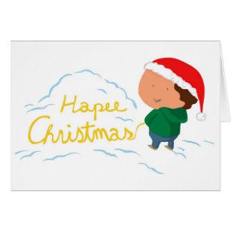 Hapee Christmas Card