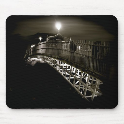 Ha'penny at Night Mousepad