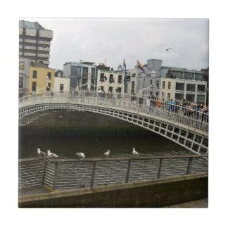 Hapenny Bridge Dublin Ceramic Tile