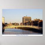 Ha'penny Bridge Dublin Ireland Print