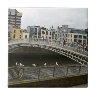 Hapenny Bridge Dublin Tiles