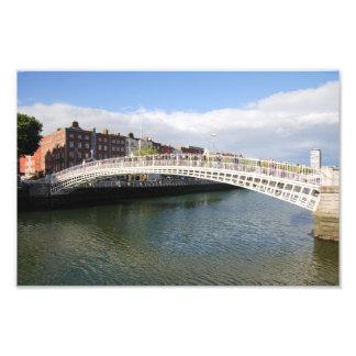 Ha'penny Bridge Photo Print