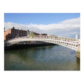Ha'penny Bridge Postcard
