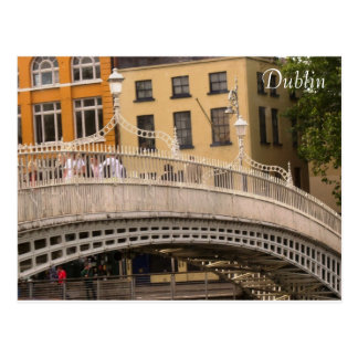 Ha'penny Bridge Postcard