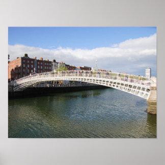 Ha'penny Bridge Poster