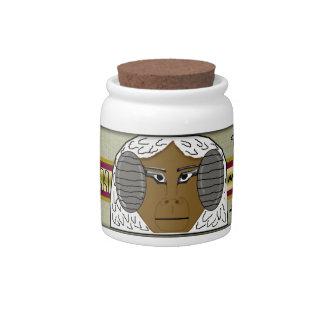 hapi canopic cookie candy jar