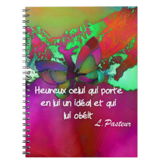Hapiness and quote notebook