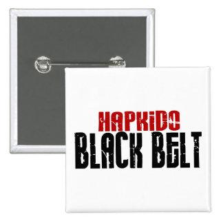 Hapkido Black Belt Button