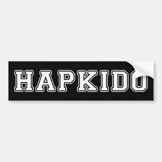 Hapkido Car Bumper Sticker