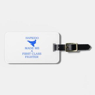 Hapkido design luggage tag