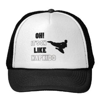 Hapkido  fight designs trucker hat
