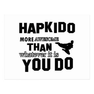 Hapkido is awesome postcard