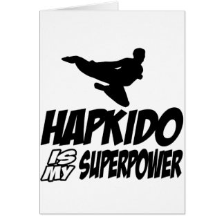 hapkido is my superpower card