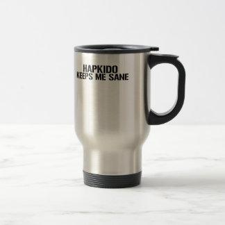 Hapkido Keeps Me Sane Travel Mug