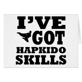 Hapkido Martial Arts designs Card