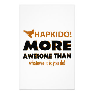 Hapkido Martial arts gift items Stationery
