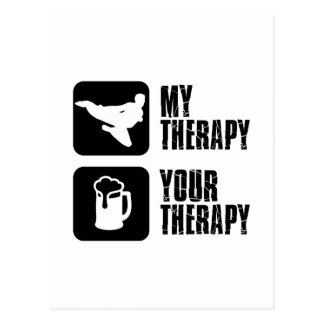Hapkido my therapy postcard