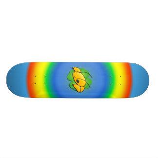 Happ Bug Rainbow Skateboard