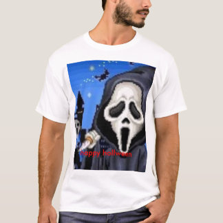 happay hollween with screm T-Shirt