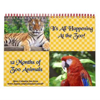 Happening At The Zoo Calendar