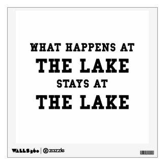 Happens At Lake Wall Skins