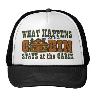 Happens At The Cabin Hat