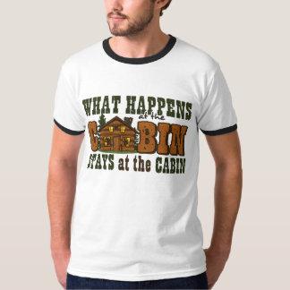 Happens At The Cabin Shirt
