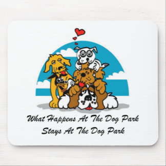 Happens At The Dog Park 1 Mouse Pad