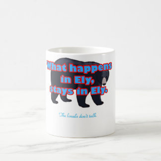 happens in Ely Classic White Coffee Mug
