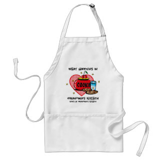 Happens In Grandma's Kitchen Aprons