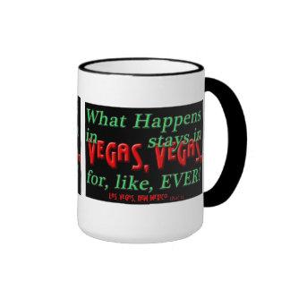 Happens in Vegas black mug