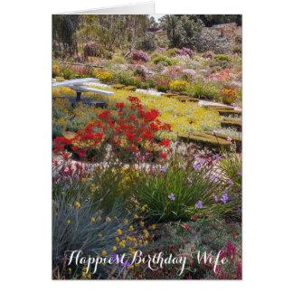 Happiest Birthday Wife Card