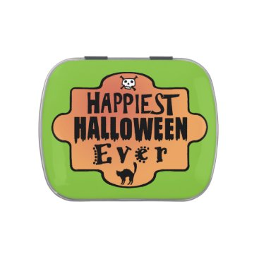 Halloween Themed Happiest Halloween Ever tin Jelly Belly Tin